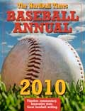 The 2010 Annual featured brand new PITCHf/x analysis by the likes of Mike Fast and Dave Allen and other pitching analyses by Tom Tango and Sean Smith. Plus, there was a lot of other terrific commentary, such as Baseball America's Ben Badler's take on baseball in Latin America. Buy Now.