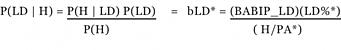 bmetrics formula