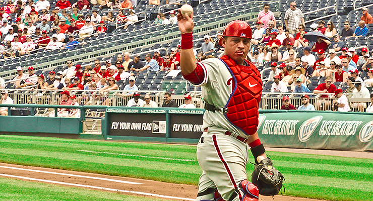 There should be more catchers who throw with their other hand (via Matthew Straubmuller).