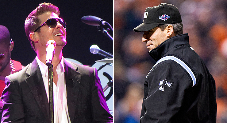 "Did you know that Robin Thicke's ""Blurred Lines"" was inspired by Angel Hernandez? (via Melissa Rose and Keith Allison)"