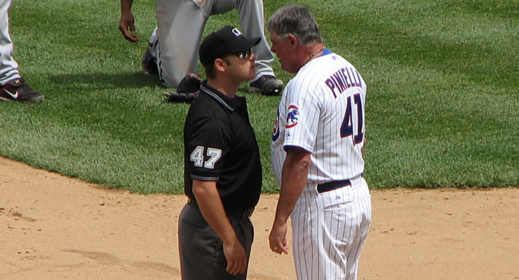 Lou Piniella always got his money's worth (via Eric R.).