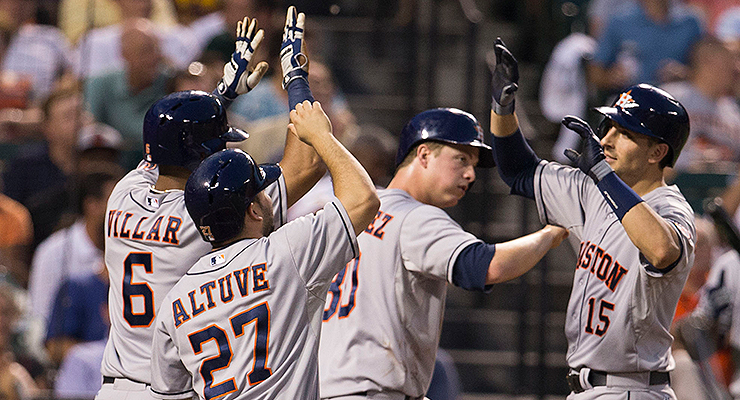 Just how frequently would the Astros beat an All-Star team? (via Keith Allison)