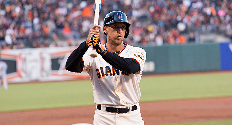 Hunter Pence knows that if you can focus, it doesn't matter how strange you look (via Andy Rusch).