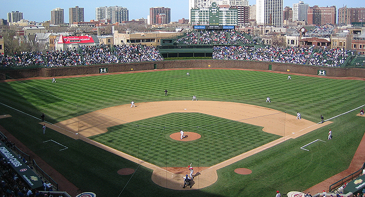 Wrigley Field is better aligned for shadows than many of its younger ballpark peers (via Jeramey Jannene).
