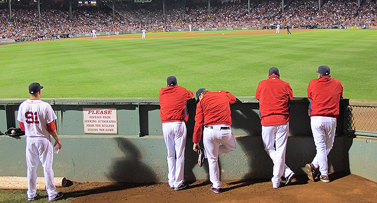 Watching from the bullpen gives pitchers the right perspective for reflection (via BuzzFarmers).