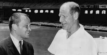 Bill Veeck, Jr. (right), doesn't get the recognition he deserves (via ABC Television).