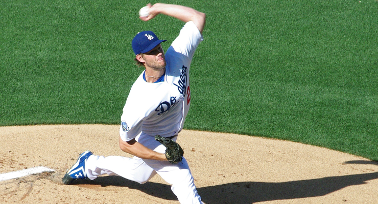 "Teams could ""punt"" against Clayton Kershaw, but would it increase their odds enough? (via Ron Reiring)"