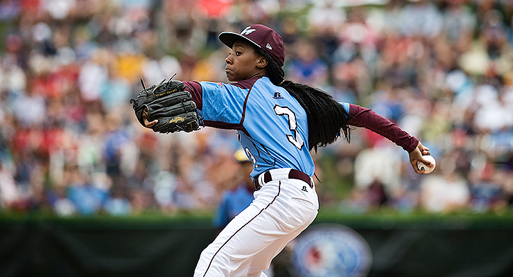 Mo'ne Davis has already changed the game (via Sean Simmers, AP/Pennlive.com).