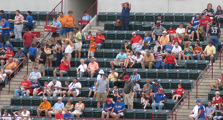 Fans may not be filling the ballpark right now, but the Rangers are still worth watching (via theterrifictc).
