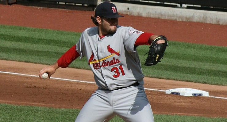 Lance Lynn was among the best at mixing his fastball in 2014. (via Kathryn Prybyl)