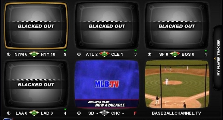MLB blackouts could, and should, be a thing of the past. (via Billy Bob Bain)