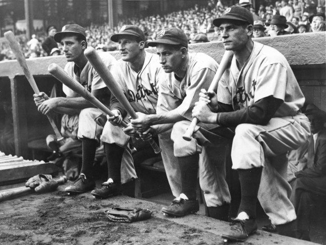Tigers Hitters Greenberg, Goslin, Gehringer And Fox