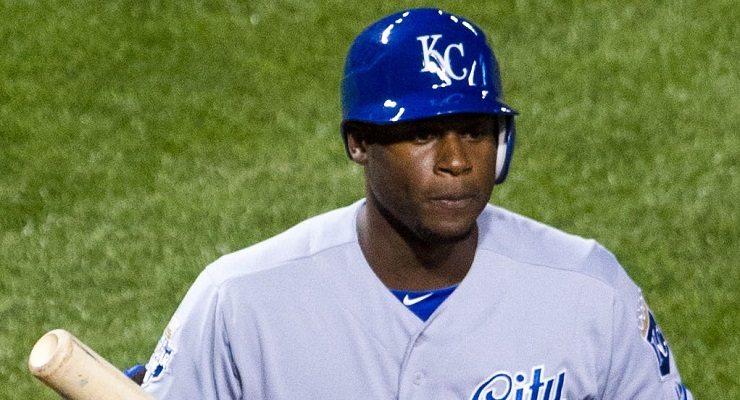 StatCast looks upon Lorenzo Cain's fielding favorably. (via Keith Allison)