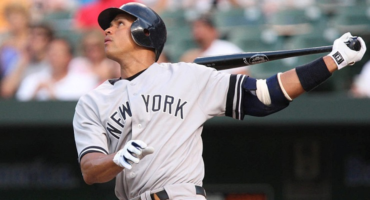 Things are looking up a bit for Alex Rodriguez early in 2015. (via Keith Allison)