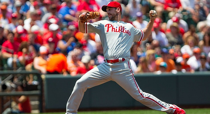 Cliff Lee doesn't throw hard, but he hasn't been completely healthy in a couple years. (via Keith Allison)
