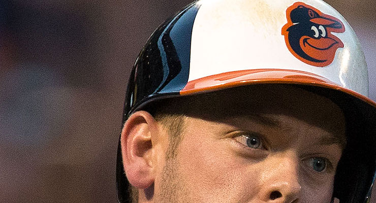 Matt Wieters has color one category eyes. (via Keith Allison)