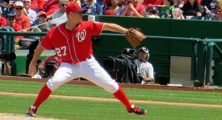 Jordan Zimmermann was one of the best at getting a first-pitch strike in 2014. (via Alan Kotok)