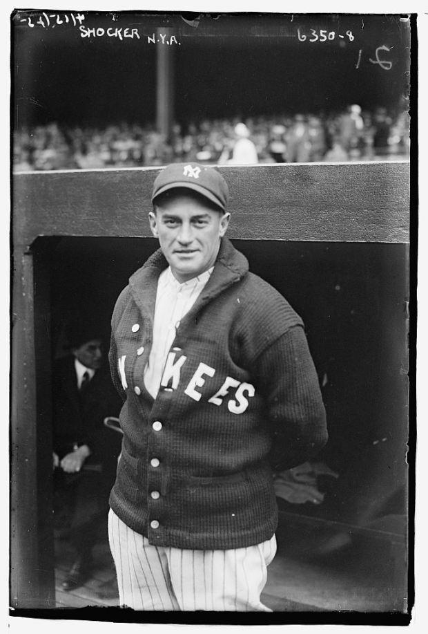 Vintage-Yankees-Shawl-Sweater