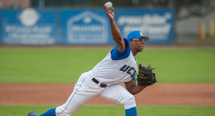 Dillon Tate is one of the top prospects in the 2015 MLB Draft. (Courtesy of UCSB Athletics)