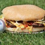 The Fifth Third Burger (Via West Michigan Whitecaps)