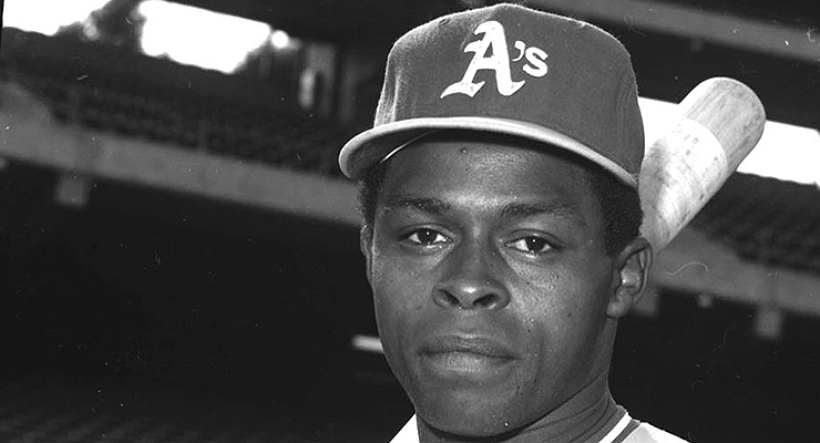 Glenn Burke was one of Mike Norris' best friends on the A's. (photo courtesy of The Baseball Reliquary)