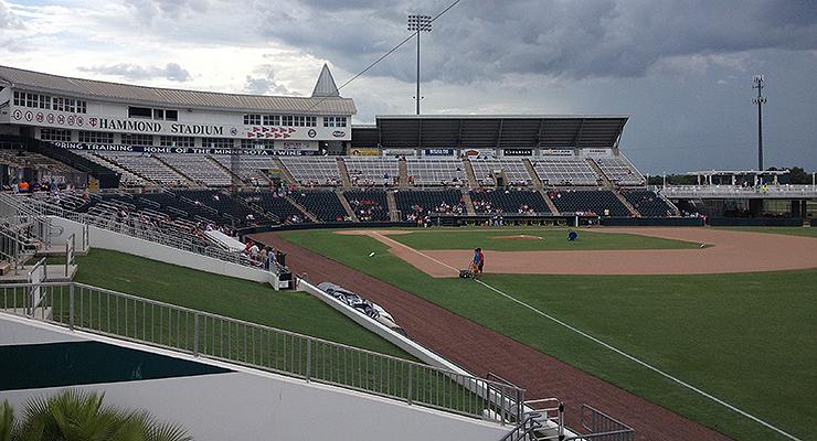 Hammond Stadium in Fort Myers, Fla. (via Chris Gigley)
