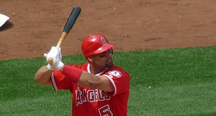 Albert Pujols isn't as good as he was in St. Louis, but he has aged relatively well. (via Marianne O'Leary)