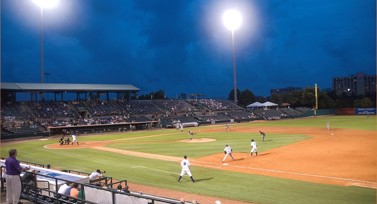 The weather in the South Atlantic League is almost unrivaled in Minor League Baseball. (via Ron Cogswell)