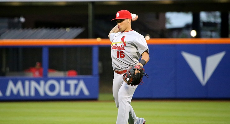 Kolten Wong is one of the many 25 and under players contributing to the Cardinals. (via Arturo Pardavila III)
