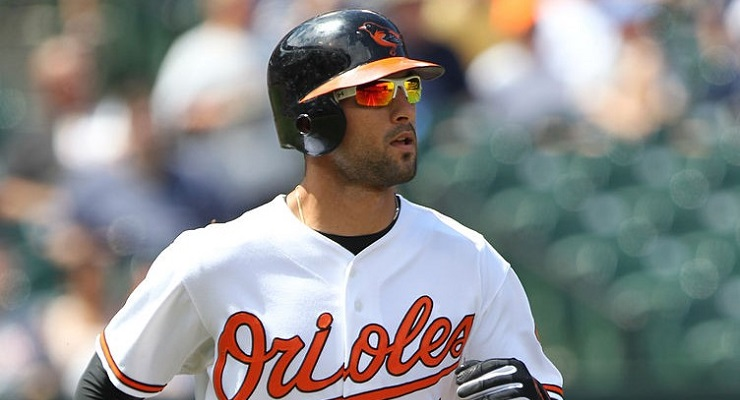 Surprisingly, Nick Markakis was never an All-Star in Baltimore. (via Keith Allison)