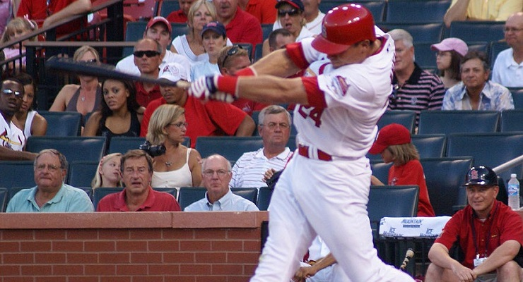 Rick Ankiel is one of the more famous burnout cases in recent years. (via Barbara Moore)