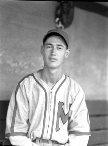 The original Ted Williams photograph