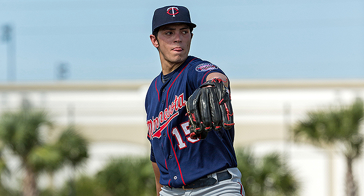 Dereck Rodriguez posted a 2.85 ERA at Elizabethtown this year. (Photo courtesy of Minnesota Twins)