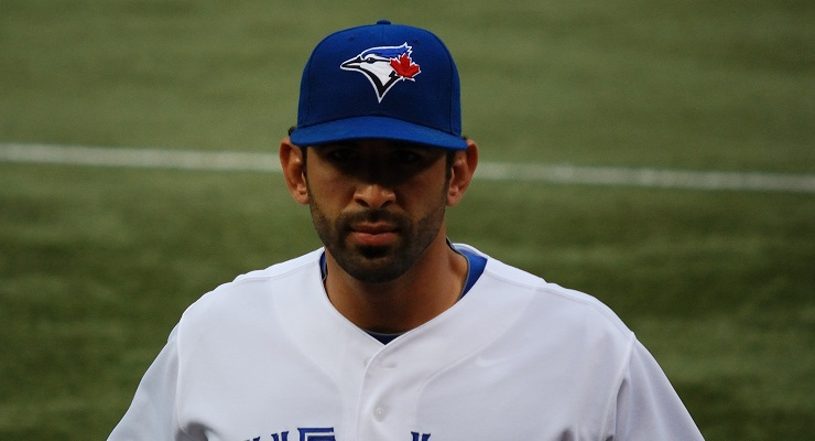Jose Bautista takes as many 3-0 pitches as anyone in baseball. (via James G)