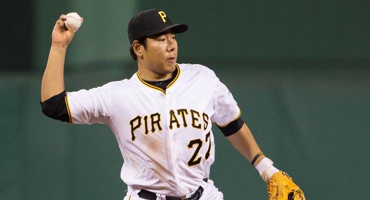 Jung Ho Kang has had an incredible rookie season. (Photo courtesy of Dave Arrigo/Pittsburgh Pirates)