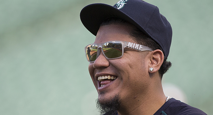 Felix Hernandez is the last major league pitcher to throw a perfect game. (via Keith Allison)