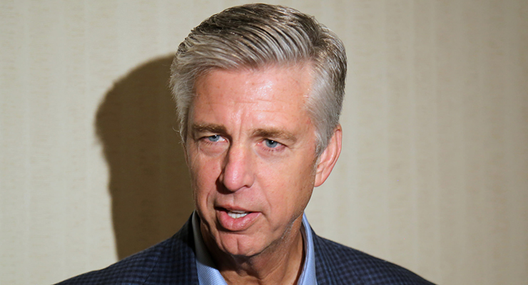 Dave Dombrowski has already made some big moves with the Red Sox. (via Arturo Pardavila III)