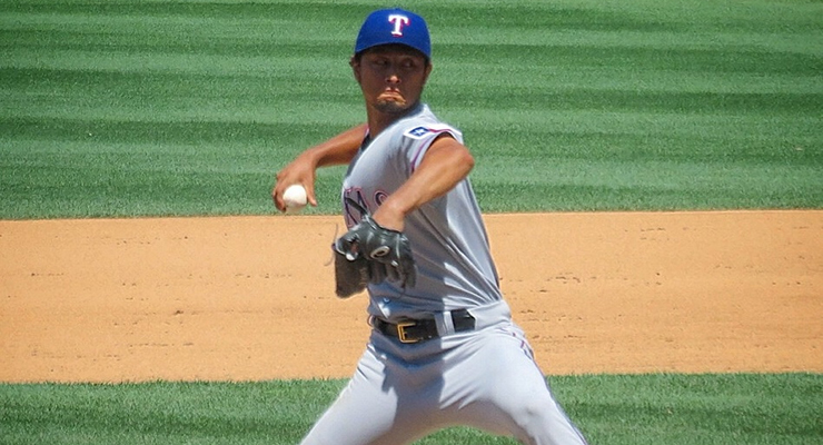 Yu Darvish's slider is in a league of its own. (via Matthew Straubmuller)