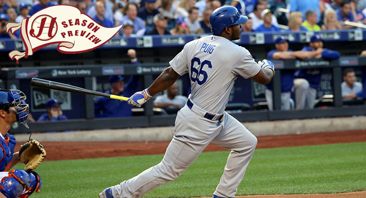 Yasiel Puig is looking to bounce back from a down 2015 season. (via Arturo Pardavila III & Howell Media Solutions)
