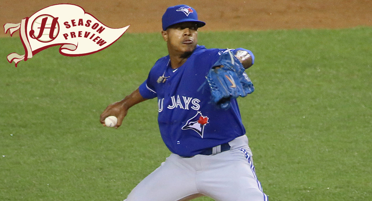 Marcus Stroman takes on Chris Archer in the marquee matchup of opening day. (via Arturo Pardavila III & Howell Media Solutions)