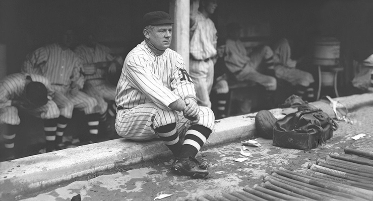John McGraw was ahead of his time when it came to bullpen usage. (via Mears Auction)