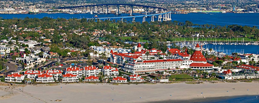 Coronado, Calif. (via Hotel Del Coronado)