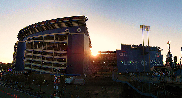 The sun set on a relationship forged at Shea Stadium, but that was just fine. (via Bryce Edwards)
