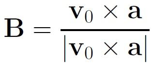 Binormal Vector