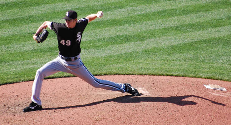 Chris Sale gets in-plane movement on his slider. (via Minda Haas Kuhlmann)