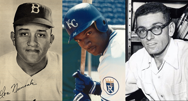 Don Newcombe, Bo Jackson and Arnold Hano will be inducted in this year's Shrine of the Eternals. (via Don Malcolm)