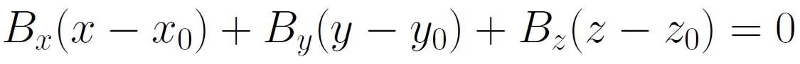 plane equation