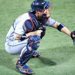 The Physics of Catchers' Knees