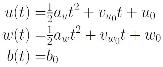 uwb Equations