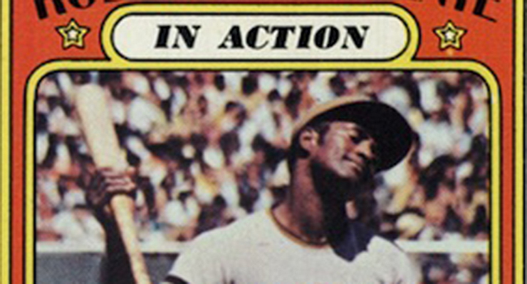 Is Roberto Clemente upset with a call or ritualistically rolling his neck?